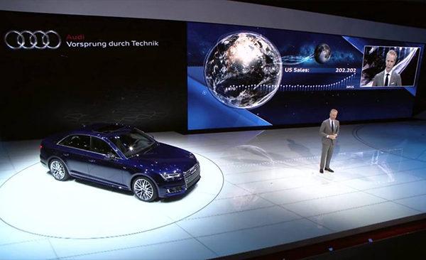 Audi Press Conference at NAIAS 2016
