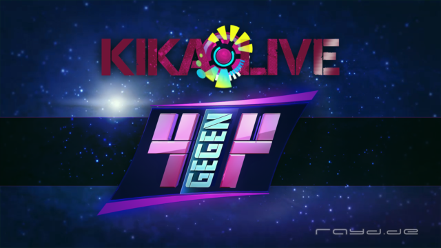 "During the new and groundbreaking gameshow ""KIKA Live 4 vs. 4″ it is the main task to evaluate the accomplishment of the teamplayer previously, among fortunes and savvy. The teams […]"