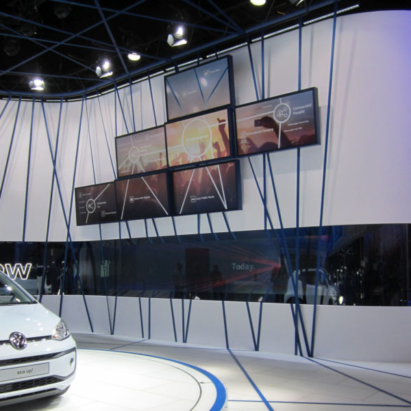 VW Booth at Geneva Auto Show 2016