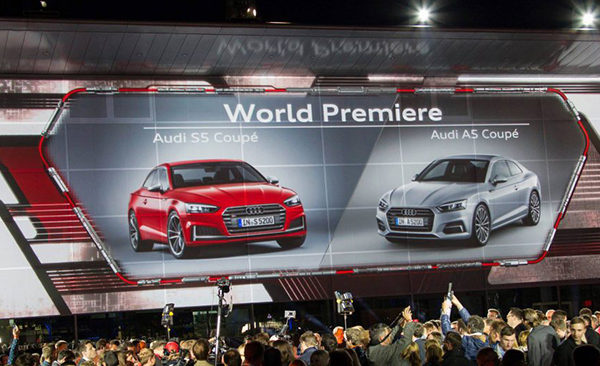 Launch of Audi A5/S5 in Ingolstadt 2016